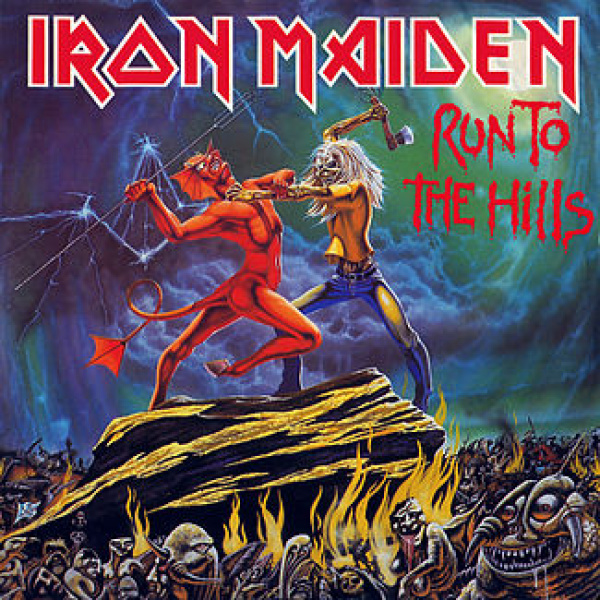 "IRON MAIDEN - Run to the Hills 7"" Parlophone"