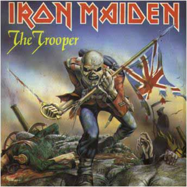 "IRON MAIDEN - The Trooper 7"" Parlophone"