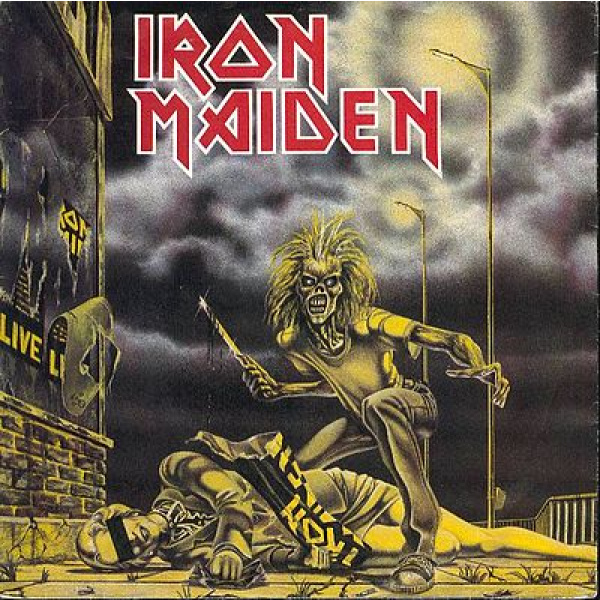 "IRON MAIDEN - Sanctuary 7"" Parlophone"