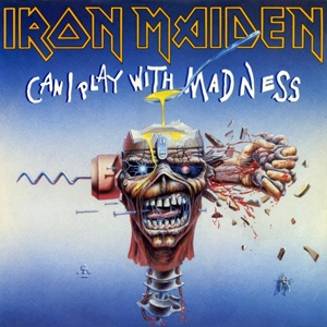 "IRON MAIDEN - Can I Play with Madness 7"" Parlophone"