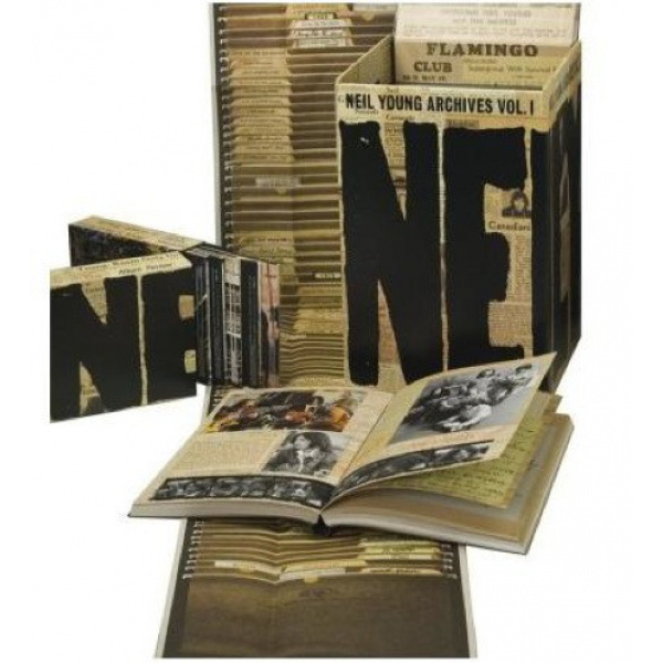 YOUNG NEIL - Archives 1963-1972 10DVD