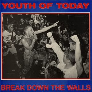 YOUTH OF TODAY - Break Down The Walls LP UUSI Revelation LTD COLOUR