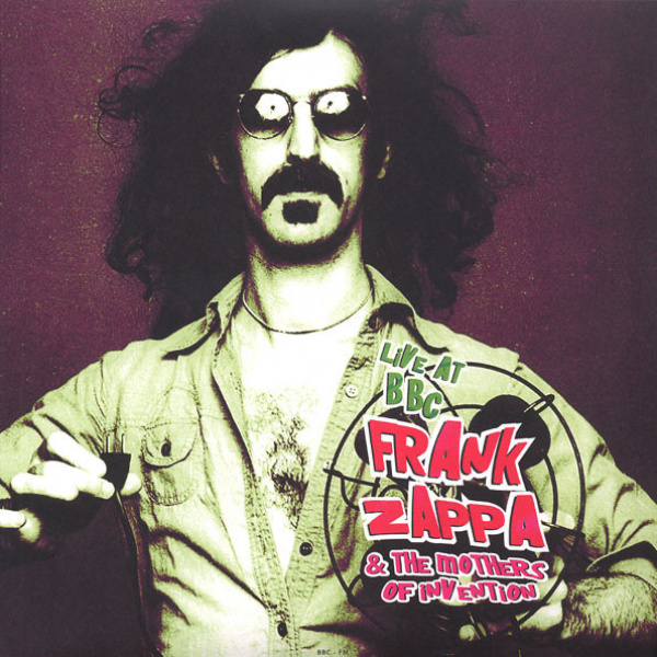ZAPPA FRANK - Live At BBC LP BRR ONE SIDE SPLATTER VINYL