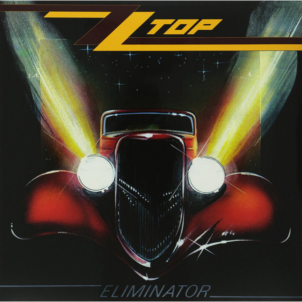 ZZ TOP - Eliminator LP LTD RED VINYL Warner
